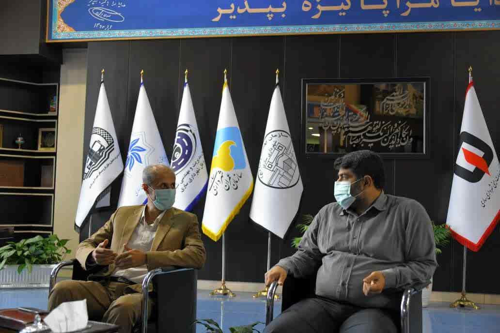 دیدار با شهردار ساری - 23 خرداد 1400