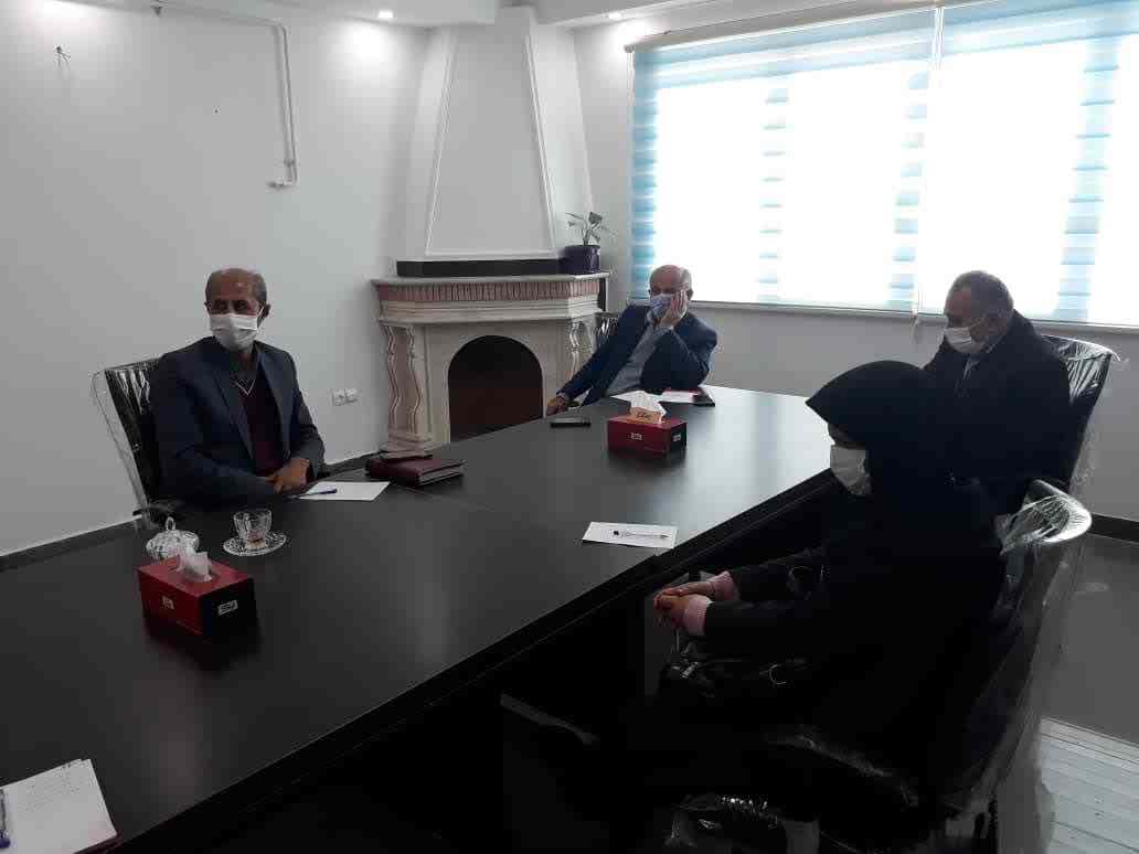 جلسه مدیران بیماران خاص با مدیرعامل مجمع خیرین سلامت استان جهت همکاری و هم اندیشی در تاریخ 25 آذرماه 1399