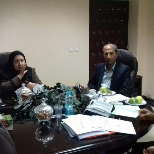 حضور مدیرعامل در جلسه انجمنهای بیماران خاص استان (هموفیلی - تالاسمی)