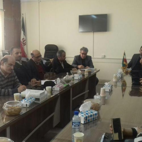 جلسه روز یکشنبه مورخ 15 بهمن ماه 1396 در استانداری مازندران