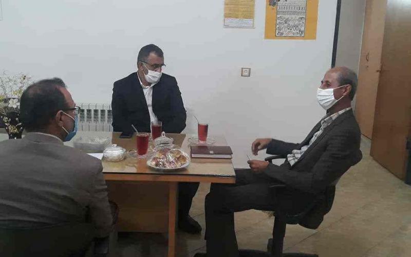 حضور نماینده محترم مردم شهرستان ساری و میاندورود در دفتر انجمن ام اس مازندران  - 25 مرداد 1399