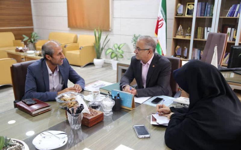 جلسه با مدیرکل محترم بهزیستی استان مازندران