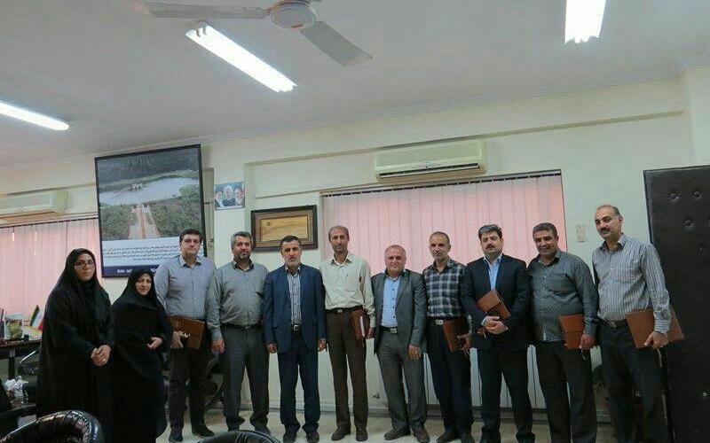 برگزاری جلسه در تاریخ 20 مرداد 1395 در فرمانداری شهرستان بهشهر