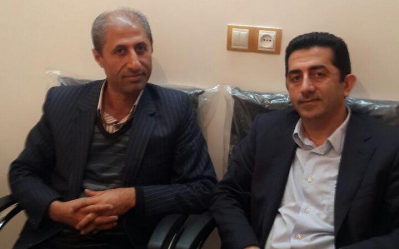 حضور اقای دکتر فلاح در دفتر انجمن ام اس مازندران