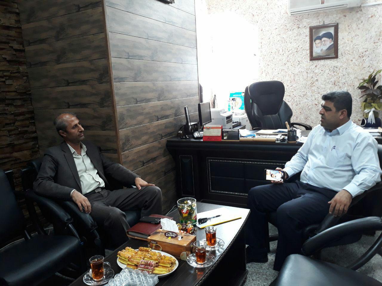 جلسه مدیرعامل انجمن ام اس مازندران با ریاست محترم اداره ورزش و جوانان شهرستان ساری