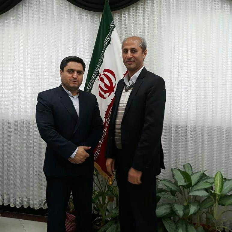 دیدار مدیر عامل انجمن ام اس مازندران با مدیرکل محترم آموزش و پرورش استان مازندران