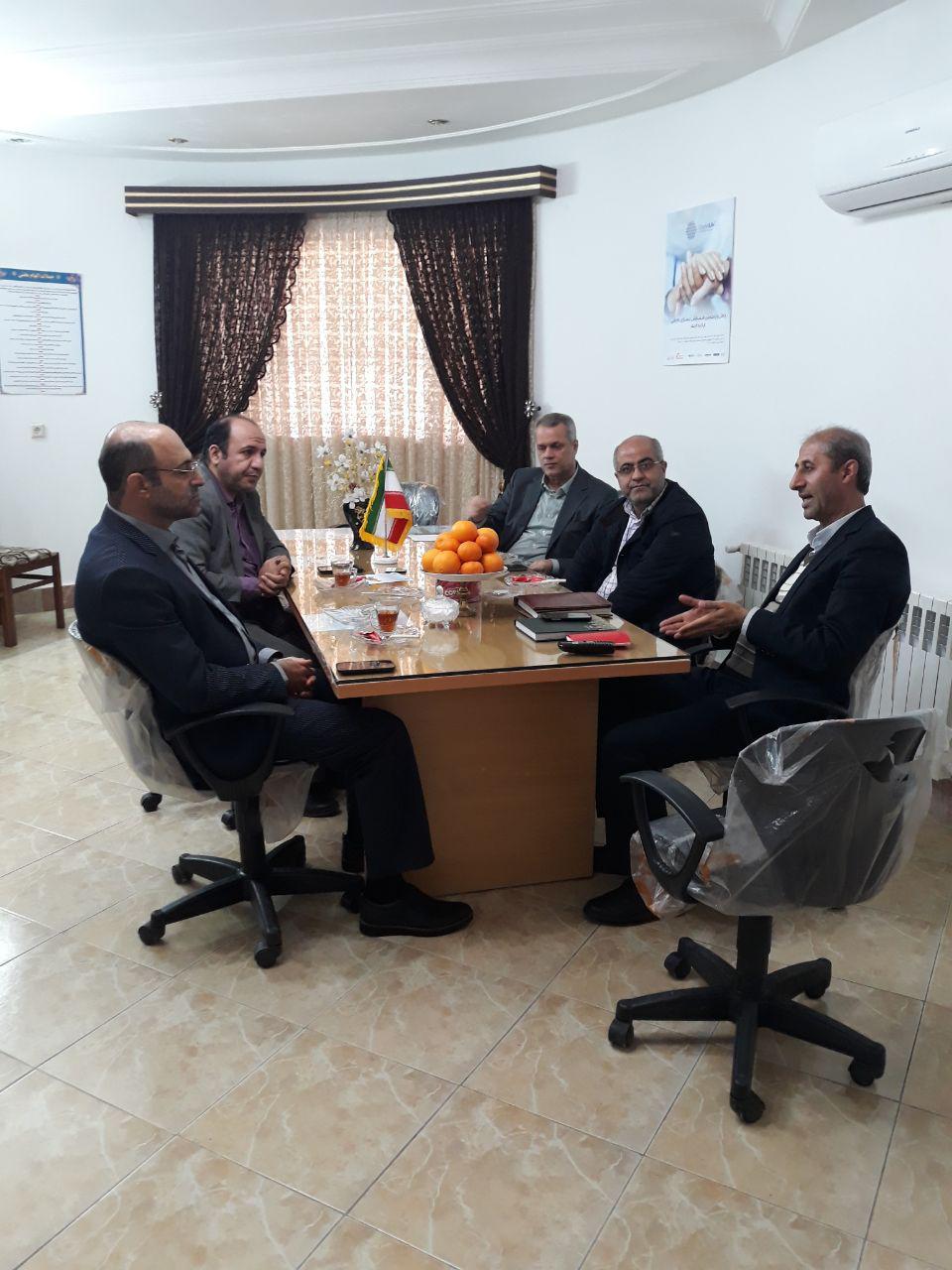 جلسه مدیرعامل انجمن ام اس مازندران با معاون و جانشین محترم رئیس دانشگاه علوم پزشکی استان مازندران